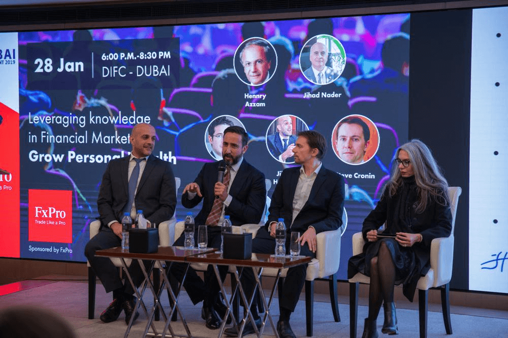 FxPro at the Dubai Investment Conference 2019